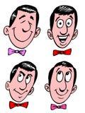 Face dos desenhos animados Fotografia de Stock Royalty Free