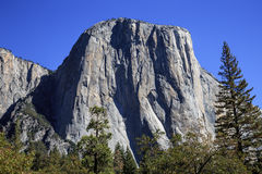 The Face of El Capitan Royalty Free Stock Photo