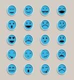Face-emotion-icon Stock Photo
