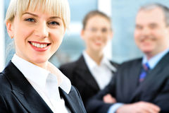Face of employee Stock Images