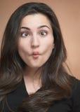 Face engraçada parva Foto de Stock Royalty Free