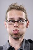 Face engraçada parva Fotos de Stock Royalty Free