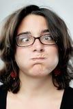 Face engraçada parva Imagem de Stock Royalty Free