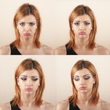 face expression Royalty Free Stock Photos