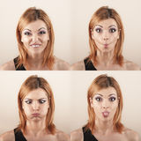 Face expression Stock Photography