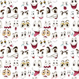 Face expressions Royalty Free Stock Photos