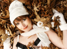 Face of Fall Royalty Free Stock Photo