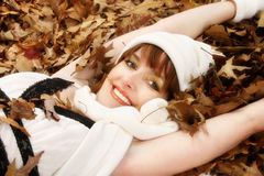 Face of Fall Royalty Free Stock Images