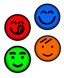 Face feliz ilustração do vetor