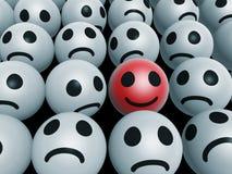 Face feliz original ilustração stock
