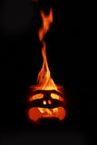 Face in fire Stock Photos