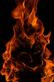 A face in flames Royalty Free Stock Images