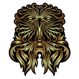 Face forest spirit mask. There is face forest spirit mask Royalty Free Stock Image