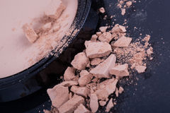 Face foundation powder Royalty Free Stock Images