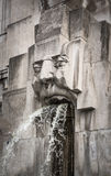 Face Fountain, Milano Centrale station, Milan, Italy Stock Photos