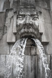 Face Fountain, Milano Centrale station, Milan, Italy Royalty Free Stock Image