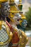 Face of Garuda sculpture Royalty Free Stock Photos