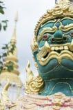 Face of Giant Buddha Royalty Free Stock Photo