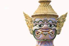Face Giant Wat Pra Kaew Thailand Royalty Free Stock Photography