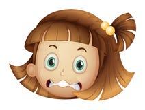 A face of a girl Stock Photography