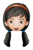 A face of a girl Stock Image