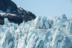 Face of a Glacier Stock Images