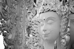 Face of God Buddhist Art Work Thailand Stock Photo