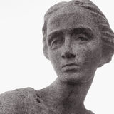 Face of goddess of love Aphrodite (Venus). The goddess of love in Greek mythology, Aphrodite (Venus in Roman mythology Royalty Free Stock Photos