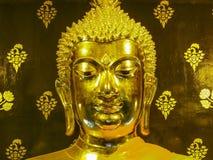 Face gold buddha Stock Photography
