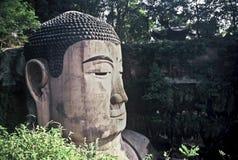Face of the Grand Buddha Stock Photos
