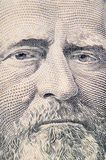 The face of Grant the dollar bill macro Stock Photo