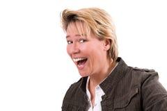 face happy Στοκ εικόνα με δικαίωμα ελεύθερης χρήσης