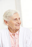 Face of a happy senior citizen Royalty Free Stock Image