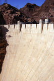Face of Hoover Dam, Lake Mead , Colorado River Stock Photography