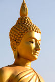 Face image buddha in Thailand Stock Images
