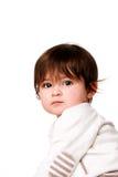 Face inocente bonito da criança do bebê Fotografia de Stock Royalty Free