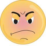 Face irritada Imagens de Stock