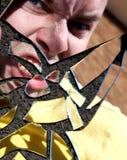 Face irritada Imagens de Stock Royalty Free