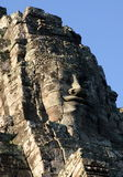 Face of Jayavarman VII. Temple of Bayon, Cambodia Royalty Free Stock Photography