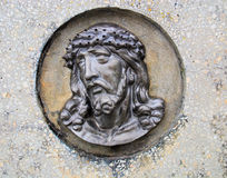 Face of Jesus Royalty Free Stock Photography