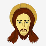 Face of Jesus Christ Royalty Free Stock Photos