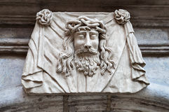 Face of Jesus Christ Royalty Free Stock Images