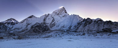 Face of Lhotse Stock Images