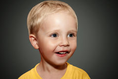 Face little boy stock photography