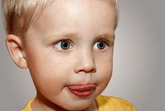 Face little boy royalty free stock images