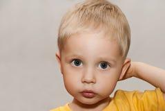 Face little boy Royalty Free Stock Photos