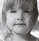 Face of little girl Royalty Free Stock Photos