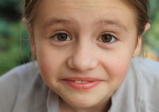 Face of little girl Royalty Free Stock Image