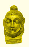 Face of Lord Buddha Royalty Free Stock Photography