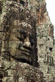 Face Mahayana Buddhist King Jayavarman VII Royalty Free Stock Photography